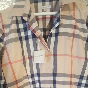Authentic Burberry nova check shirt